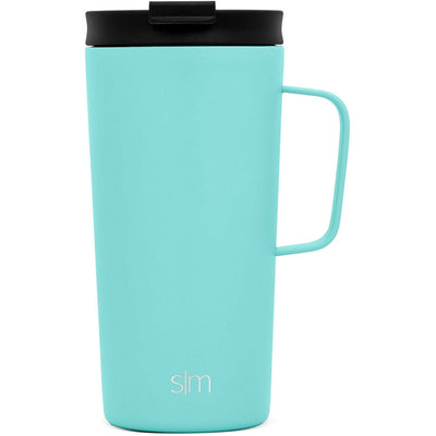 Teal Custom Etched Simple Modern Scout Mug, 18 Ounces Integrity Bottles