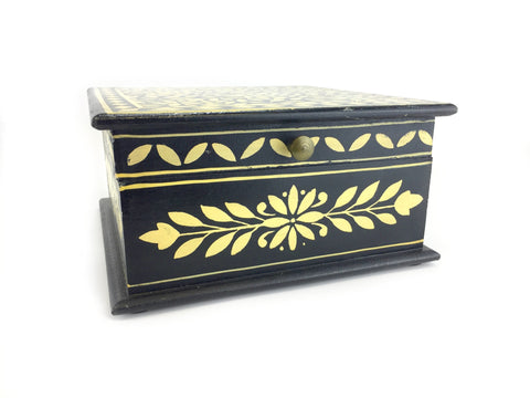 Black Jewelry Box - Customized Jewelry Inserts - Jewelry Box