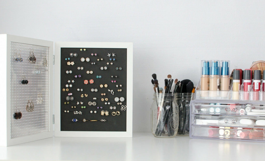 Double Frame Earring Holder