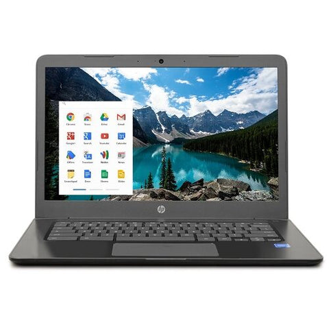 "HP 14"" Chromebook 14-ca020nr Celeron N3350 Dual-Core 1.1GHz 4GB 16GB eMMC  w/Webcam & BT"