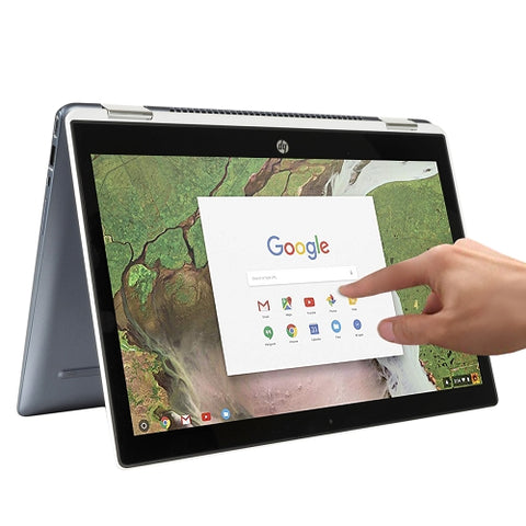 "HP 2-in-1 14"" Touch-Screen Chromebook - Dual Core i3-8130U  8GB/64GBSSD  best buy"