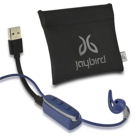 Jaybird FREEDOM 2 In-Ear Wireless Bluetooth Sports Headphones w/Inline Controls & Charging Clip/Battery Pack (Black)