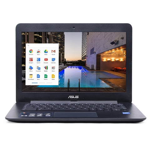 "ASUS 13.3"" Chromebook C300SA-DS02 Celeron N3060 1.6GHz 4GB 16GB Webcam & Bluetooth"