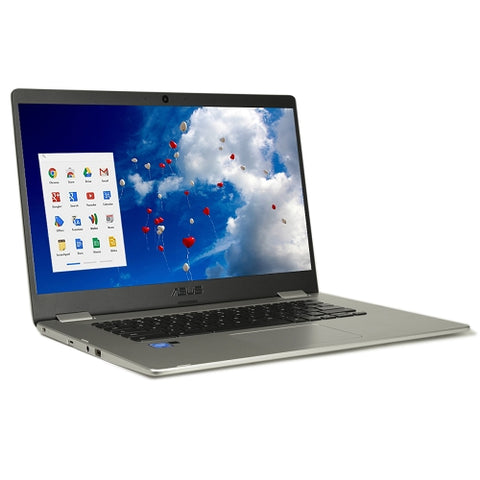 "ASUS C523NA-DH02 Celeron N3350 Dual-Core 1.1GHz 4GB 32GB eMMC 15.6"" LED"