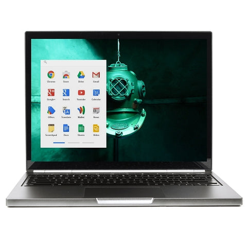 "Google Pixel Touchscreen Chromebook 12.85"" Core i5-3427U Dual-Core 1.8GHz 4GB 32GB SSD cb001"