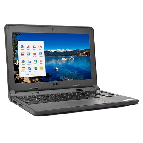 "Dell 11.6"" Chromebook 11-3120 Celeron N2840 Dual-Core 2.16GHz  4GB/16GB"