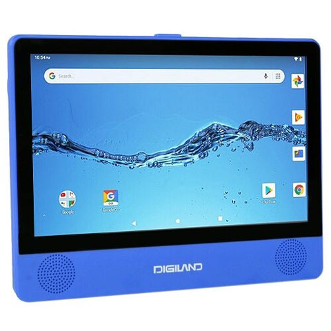 "Digiland DL9003 2-in-1 Android Tablet + DVD Player - Quad-Core 1.3GHz 1GB 16GB 9"" Touchscreen Tablet Android 8.1"