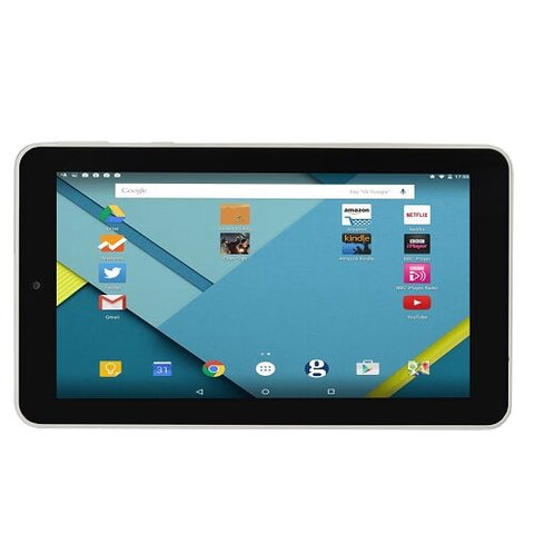 "Android 7"" Touchscreen Tablet HD7T Quad-Core 1.2GHz 1GB 8GB  w/Cams & BT (White) New Best Buy Gift Idea"