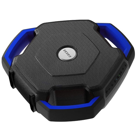 26W Floating Bluetooth Waterproof Speaker Ion Audio Wave Rider  w/LED Illumination & FM Radio  New