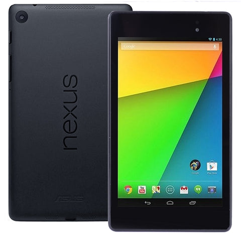 "ASUS NEXUS 7 16GB SnapDragon Quad-Core 1.5GHz 2GB 16GB 7"" Multi-Touch Tablet Android 5.1 w/Dual Cams (Black)"