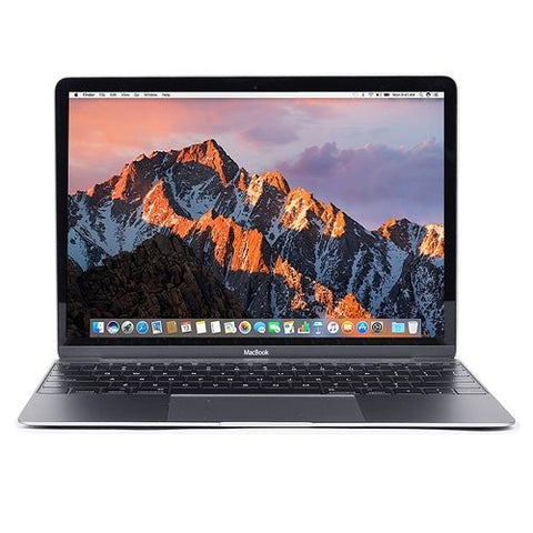 "Apple MacBook Retina Core M3-7Y32 Dual-Core 1.2GHz 8GB 240GB SSD 12"" Notebook (Space Gray) (Mid 2017) - B"