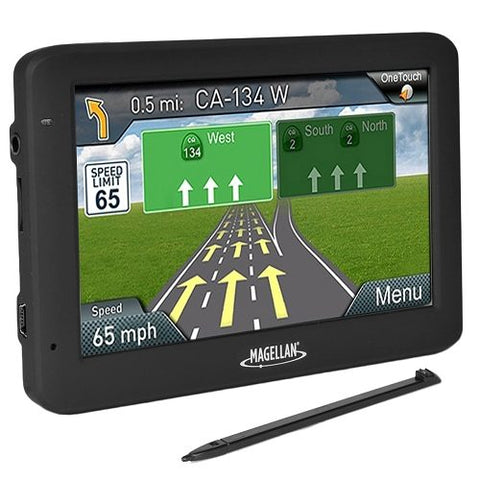 "Magellan GPS System RoadMate 5635T-LM 5.0"" Touchscreen Portable with updates"