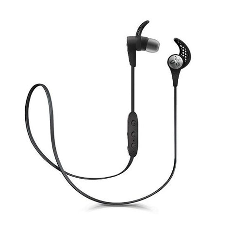 Jaybird X3 Sport Sweat/Water Resistant Wireless Bluetooth In-Ear Headphones w/Inline Controls (Black) - A