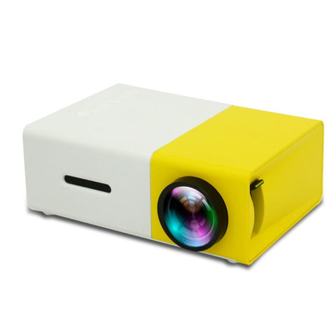 Holidays Portable Lightweight Mini Projector Home Theater High Res 1080P HDMI & Battery Powered - New