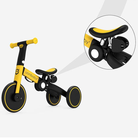 Gift For Children 2-6 Folding Tricycle with 3 modes. New Safe design