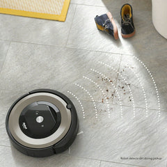 iRobot Roomba E6 Vacuum Cleaning Robot E6198 Manufacturer Certified Refurbished 2 year warranty
