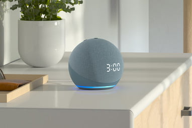 Amazon Echo Dot 4th Generation Smart Speaker with Clock and Alexa - New
