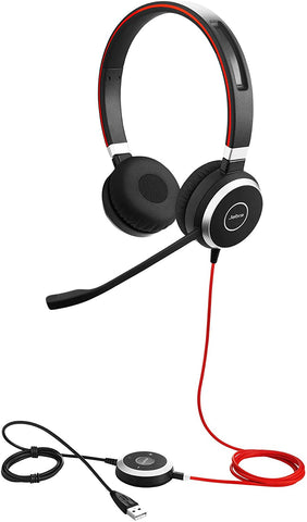 Jabra Evolve 40 UC Professional Wired Headset, Stereo – Telephone Headset for Greater Productivity, New