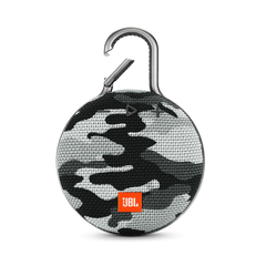 JBL Clip 3 Waterproof Portable Bluetooth Shower Speaker with 10-Hour Battery New Gift Idea