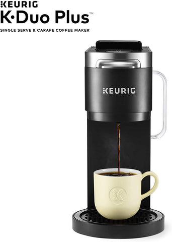 Keurig K-Duo Plus C Coffee Maker, Single Serve K-Cup Pod & 12 Cup Thermal Carafe