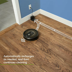 iRobot Roomba 980 Wi-Fi Connected Rechargeable Vacuum Cleaning Robot works with Alexa &  Hey Google !