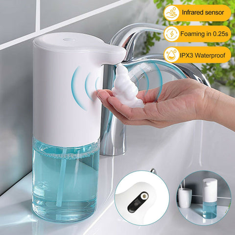 Hygienic Touchless Automatic Foam Soap Dispenser IR sensor Waterproof New