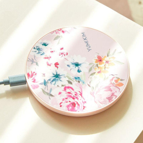 Floral Wireless Charging Pad- Delicate Elegant New Gift Idea 10W Output Great for most devices.