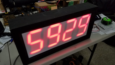 Wireless Countdown Clock with Audio