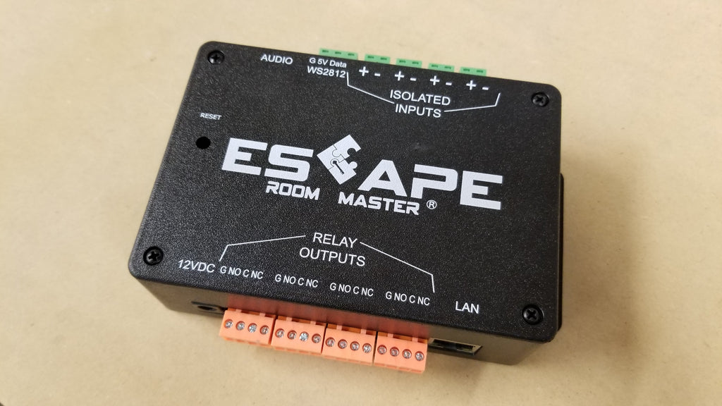 Escape Room Master Prop and Hardware Interface Controller V2