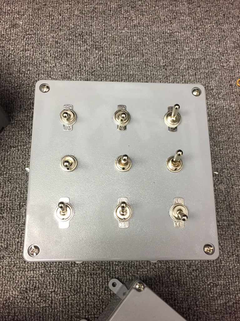 Switch Puzzle Box for Escape Rooms