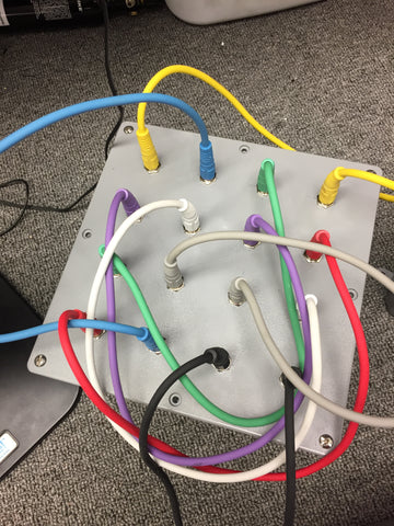 Patch Cable Puzzle Prop for Escape Rooms