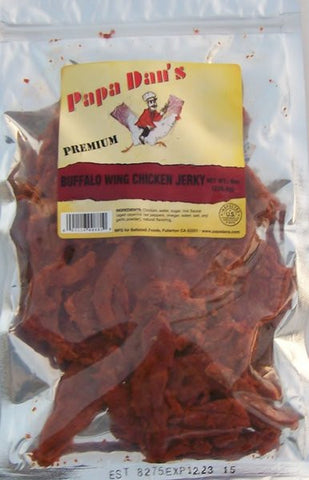 CHICKEN BUFFALO WING FLAVOR JERKY 8oz