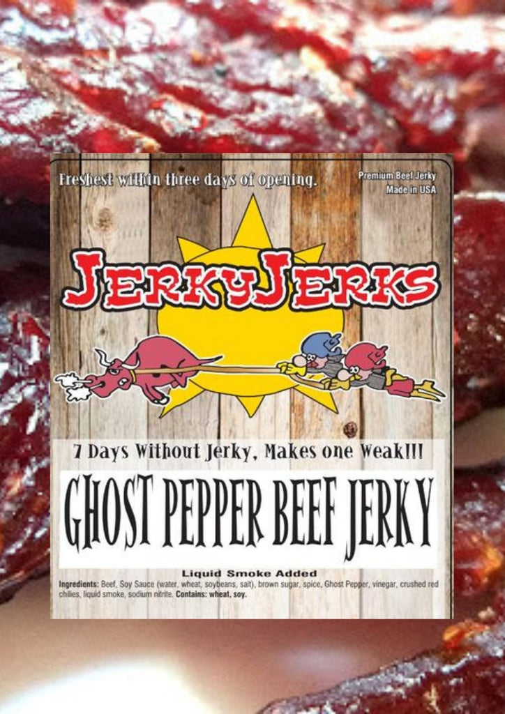 GHOST PEPPER JERKYJERKS