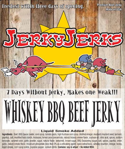 WHISKEY BBQ 8oz