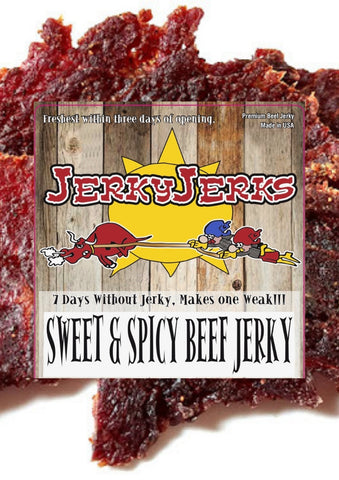 SWEET & SPICY THIN JERKYJERKS 8oz