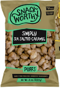Sea Salted Carmel Puffs
