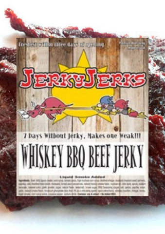 WHISKEY BBQ JERKYJERKS