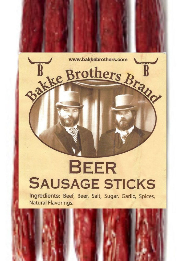 Beer Sausage Sticks Whiskey Hill 4oz