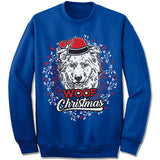Australian Shepherd Ugly Christmas Sweater
