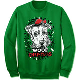 American Pit Bull Terrier Ugly Christmas Sweater.
