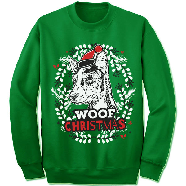 Basenji Ugly Christmas Sweater