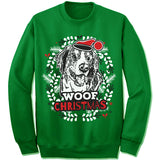 Bernese Mountain Dog Ugly Christmas Sweatshirt
