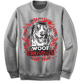 Bernese Mountain Dog Ugly Christmas Sweater.