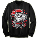 Boxer Ugly Christmas Sweatshirt