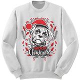 Boxer Ugly Christmas Sweater.