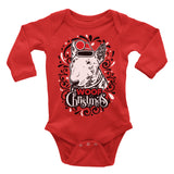 Bull Terrier Dog Ugly Christmas Onesie.