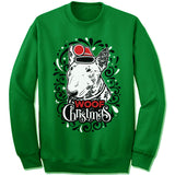 Bull Terrier Ugly Christmas Sweater.