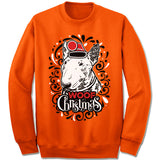 Bull Terrier Ugly Christmas Sweatshirt