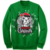 Cavalier King Charles Spaniel Ugly Christmas Sweater.