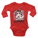 Collie Ugly Christmas Onesie.